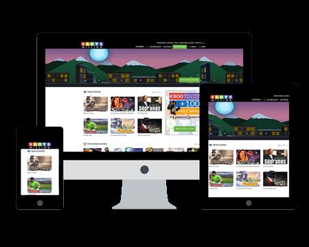Die Mr Green Webseite mit aktuellem Bonusangebot