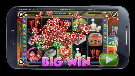 Die SlotsMillion Web App passt sich automatisch allen Mobilen Geräten an.